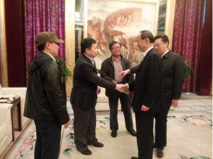 陈飞市长作为原青岛高新区管委主任