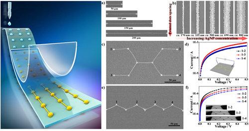 银纳米粒子的图案化组装